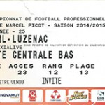 Billet Nancy- Luzenac - Saison 2014-2015 - L2 (25e j 20 02 2015)