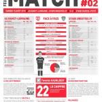 Feuille de match saison 2015-2016 Journée n°03 Brest