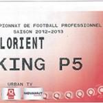 Parking FC Lorient - saison 2012 2013