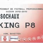 Parking FC Sochaux - saison 2012 2013