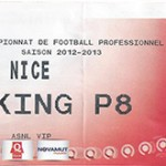 Parking OGC Nice - saison 2012 2013