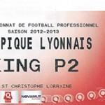 Parking Olympique Lyonnais - saison 2012 2013