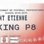 Parking St Etienne - saison 2012 2013