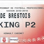 Parking Stade Brestois - saison 2012 2013