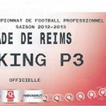 Parking Stade de Reims - saison 2012 2013