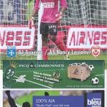 Programme Auxerre - Nancy - saison 2013-2014 (j°38 16;05;2014)