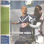 Programme Bordeaux Nancy - saison 2007 2008 31 j. 29-03-2008