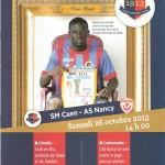 Programme Caen Nancy - saison 2013 2014 12e j. 26-10-2013