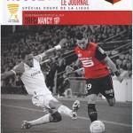 Programme Coupe de la Ligue extérieur Rennes Nancy saison 2013 2014 (16eme 29-10-2013)