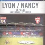 Programme Lyon Nancy saison 2007 2008 (37e j ; 10;05;08)