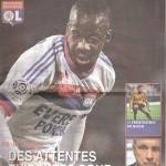 Programme Lyon Nancy saison 2011 2012 (15;10;11)