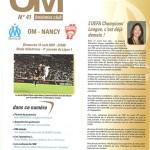 Programme Marseille Nancy (bis) saison 2007 2008 ( 4e j ; 19;08;07)