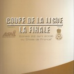 Programme Nancy-Nice - Saison 2005-2006 - Coupe de la Ligue (finale, Stade de France, 22;04;2006)