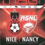 Programme Nice Nancy saison 2011 2012 (10;03;12)