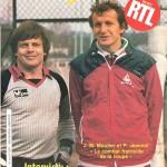 Programme Paris Nancy saison 1984 1985 Coupe de France (16;04;85)