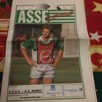 Programme Saint Etienne Nancy saison 1990 1991 (16e j ; 10;11;90)