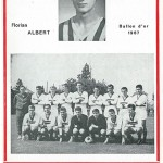 Programme saison 1968 1969 Nancy Ferencvaros Budapest 04-10-68