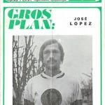 Programme saison 1971 1972 Nancy Nantes 12-12-71
