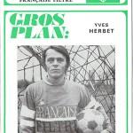 Programme saison 1971 1972 Nancy Nice 14-11-71