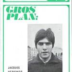 Programme saison 1971 1972 Nancy Nimes 06-05-72