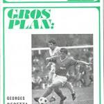 Programme saison 1971 1972 Nancy Saint Etienne 28-04-72