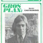 Programme saison 1971 1972 Nancy Sochaux 09-01-72