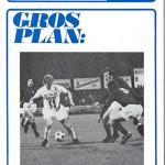 Programme saison 1972 1973 Nancy AC Ajaccio 17-10-72