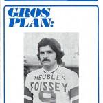 Programme saison 1972 1973 Nancy Angers 06-04-73
