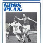 Programme saison 1972 1973 Nancy Marseille 20-09-72