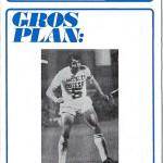 Programme saison 1972 1973 Nancy Nice 19-11-72