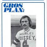 Programme saison 1972 1973 Nancy Rennes 14-04-73