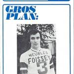 Programme saison 1972 1973 Nancy Saint Etienne 18-03-73