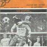 Programme saison 1974 1975 - Epinal Nancy 15-03-1975