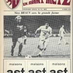 Programme saison 1975 1976 - Metz Nancy 16-03-1976