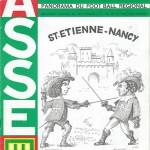 Programme saison 1977 1978 - Saint Etienne Nancy 30-11-1977