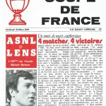 Programme saison 1978 1979 Coupe de France Nancy Lens