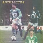 Programme saison 1982 1983 - Saint Etienne Nancy 34e j 06-05-1983