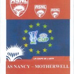 Programme saison 2008 2009 - Nancy Motherwell 18-09-2008