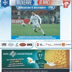 Programme saison 2009 2010 - Auxerre Nancy 06-12-2009