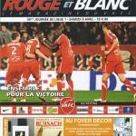 Programme saison 2010 2011 - Valenciennes Nancy 09-04-2011