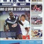 Programme saison 2012 2013 - Bordeaux Nancy 36e j 11-05-2013