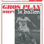 Programme saison 73-74 Nancy Lens 06-01-74