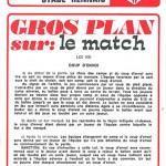 Programme saison 73-74 Nancy Rennes 22-03-74