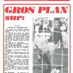 Programme saison 73-74 Nancy Troyes 11-05-74