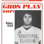 Programme saison 74-75 Nancy-Besançon 15-11-74