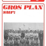 Programme saison 74-75 Nancy-Santos 11-09-74 amical