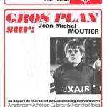 Programme saison 75-76 Nancy-Lens 29-11-75