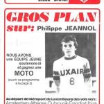 Programme saison 75-76 Nancy-Lille 02-04-76