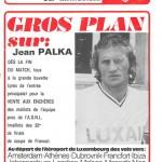Programme saison 75-76 Nancy-Marseille 15-02-76