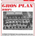 Programme saison 75-76 Nancy-Metz 11-06-76